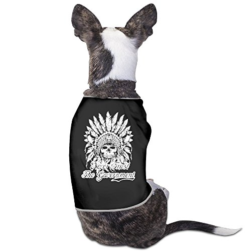 Never Trust The Government Dog Clothes Sweaters Shirt