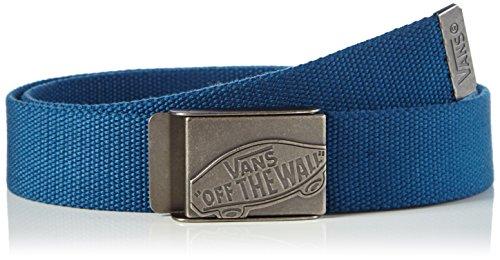Vans - Conductor Web Belt, Cintura Uomo, Blu (Poseidon Blue), Taglia unica (Taglia Produttore: One Size)