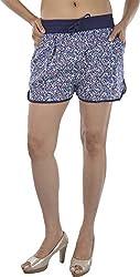 HotShot Women's Cotton Relaxed Shorts (RH004, X-Large)