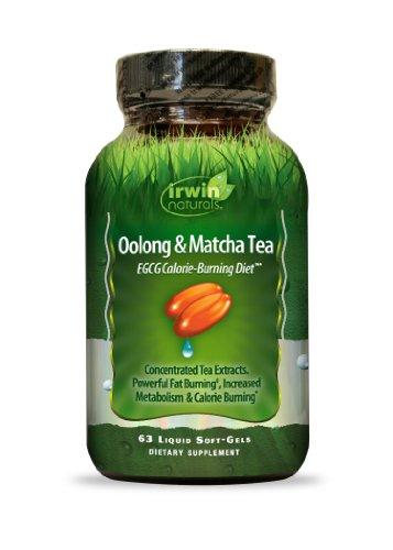 Irwin Naturals Oolong et thé Matcha, 63 comte