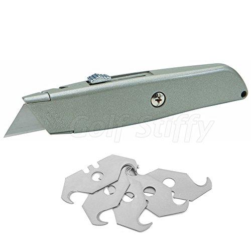 Golf Stiffy - Golf Club Hook Blade Utility Knife 7 Blades