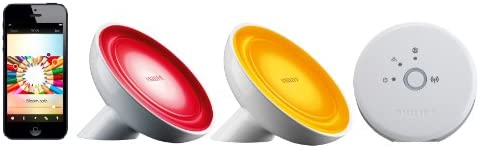 Philips 259952 Friends of Hue Personal Wireless Lighting Bloom Starter Pack, Frustration Free