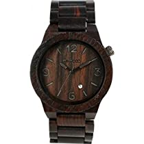 WeWOOD ALPHABLACK Mens Alpha Black Watch