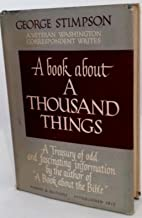 BOOK ABOUT A THOUSAND THINGS A Treasury of…