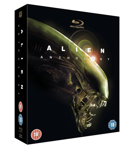 Alien Anthology [Blu-ray Import]