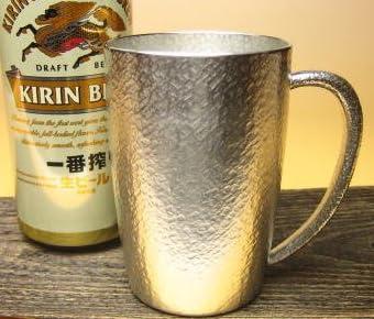 死ぬまでに一度はこのジョッキでビールを飲んでみたい大阪錫器 ジョッキベルク