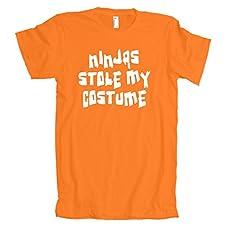 Ninjas stole my costume American amazing apparel T-Shirt