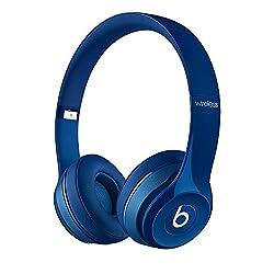 【国内正規品】Beats by Dr.Dre Solo2 Wireless 密閉型ワイヤレスオンイヤーヘッドホン Bluetooth対応 ブルー BT ON SOLO2 WIRELS BLU
