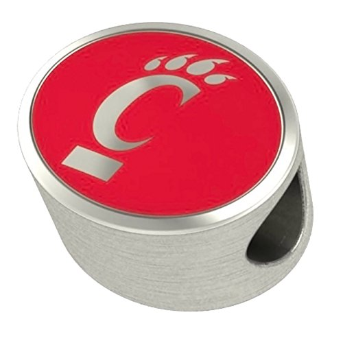 Cincinnati Bearcats Charms Fit Most European Style Charm Bracelets