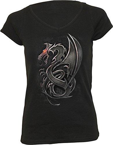 Spiral Dragon Slayer Maglia donna nero L