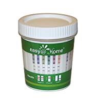 5, 10, 15, 25, 50 or 100 Pack #ECDOA-1144A3 Easy@home 14 panel Instant Drug Test Cup Testing 14 Different Drugs plus 3 adulterations and temperature strip. Tests Amphetamine (AMP), Barbiturates (BAR), Benzodiazepines (BZO), Cocaine (COC), Marijuana (THC),
