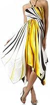 Swirl Design Satin Feel Beaded Halter…