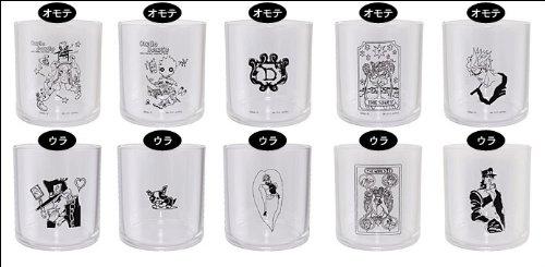 一番くじ ジョジョの奇妙な冒険 第三部 スターダストクルセイダース~BLACK SIDE~ H賞 グラス 全5種