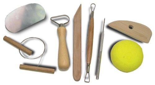SE 4PT8 8-Piece Pottery Tool