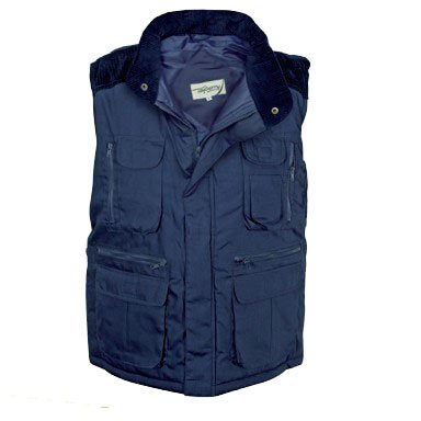 Tayberry Navy Blue Richmond Mens Body Warmer / Gilet - Size X-Large (46 - 48 inch chest)