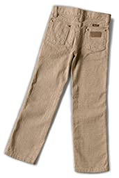 Wrangler Little Boys' Cowboy Cut Jean,Prewashed Tan,6 Regular