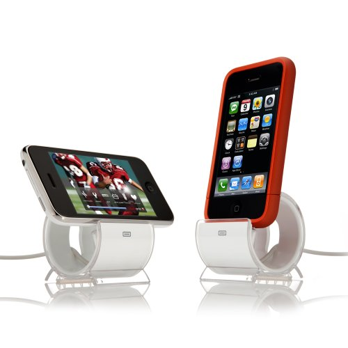 sinjimoru sync and charge dock stand for iphone 4s 4 3gs color option white cool cell. Black Bedroom Furniture Sets. Home Design Ideas
