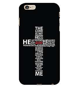CHRISTIAN CROSS Designer Back Case Cover for Apple iPhone 6S