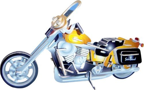 Motorcycle HD II 3d Color Wooden Puzzle
