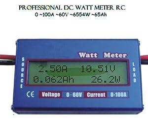 """""""Watt's Up"""" RC Watt Meter & Power Analyzer WU100 Version 2 --- SALE! from Tenergy"""