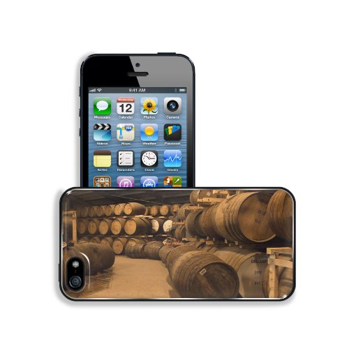 Wooden Wine Barrels Cellar Basement Apple Iphone 5 / 5S Snap Cover Premium Aluminium Design Back Plate Case Customized Made To Order Support Ready 5 Inch (126Mm) X 2 3/8 Inch (61Mm) X 3/8 Inch (10Mm) Msd Iphone_5 5S Professional Metal Case Touch Accessori front-569112