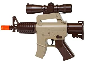 Marines Airsoft MR01 Mini Electric Airsoft Gun - 0.240 Caliber Marines Airsoft MR01 Mini Electric A