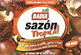 BADIA SAZON TROPICAL FLAVOUR PACKETS ANNATTO & CORIANDER 100g ORANGE BOX