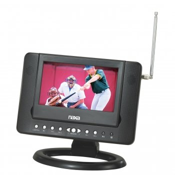 Naxa Ntd-7561 7-Inch Widescreen Digital Lcd Tv With Built-In Dvd Player And Usb/Sd/Mmc