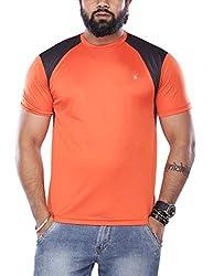 VISHAL MEGA MART Men's 100% Feel Dri T-Shirt (1114025078002_Medium_Red)