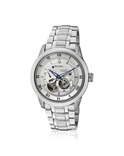 Bulova Men's 96A118 BVA Series 120 Silver Stainless Steel Watch