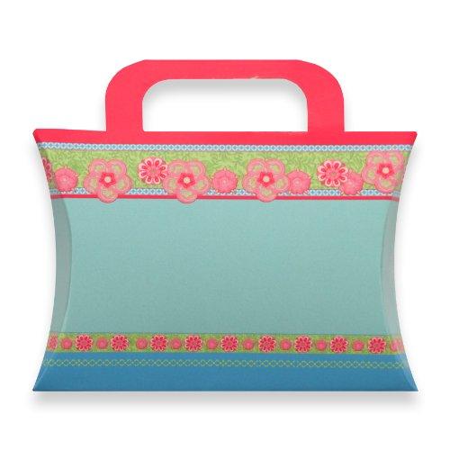 Berwick Charlotte Pillow Box Gift Card Holder, Aqua, 4