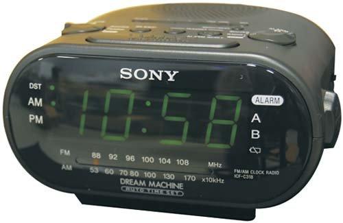 Kalin -DVR Alarm Clock Color Hidden Camera
