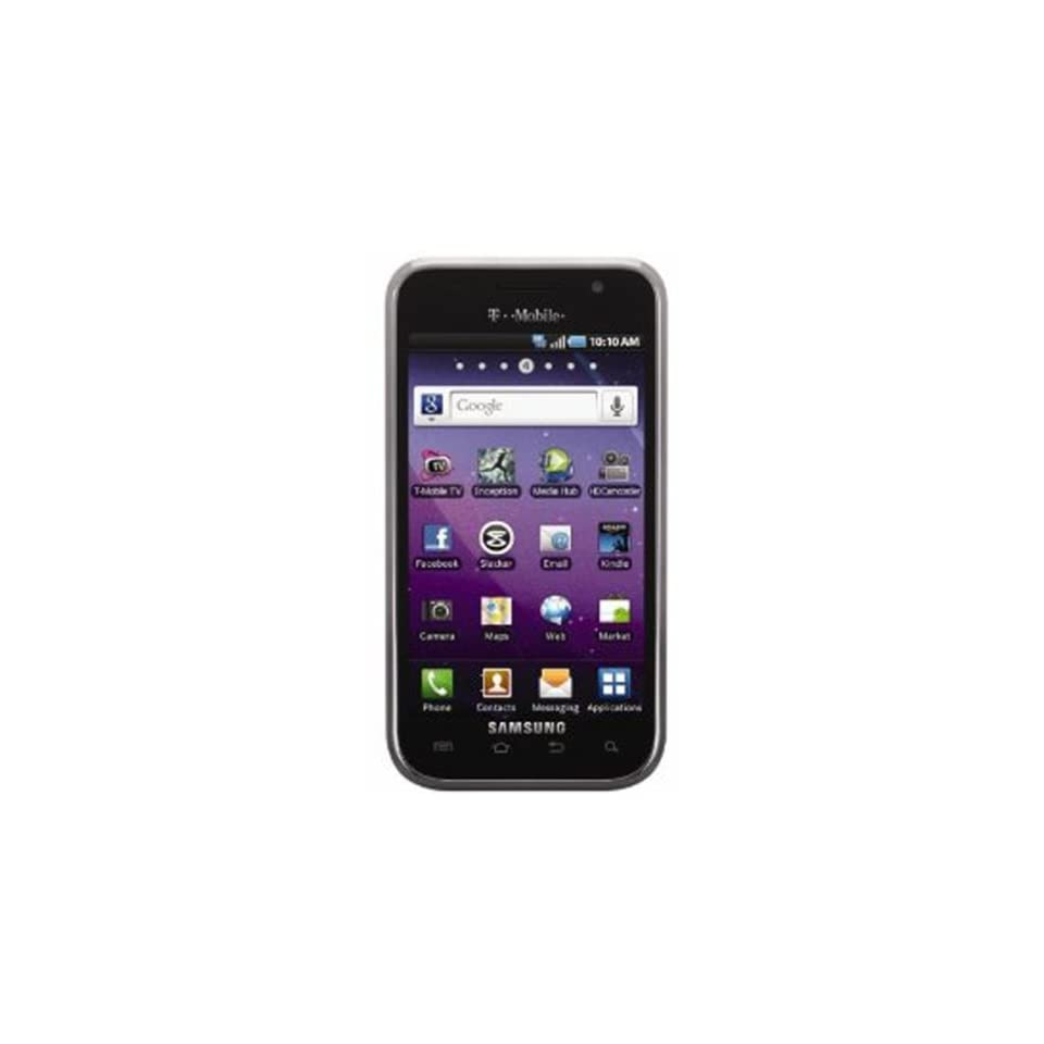 Samsung T959 Galaxy S Vibrant 4G Unlocked Phone with Android OS, 5 MP Camera, GPS and Wi Fi   Unlocked Phone   US Warranty   Black Cell Phones & Accessories
