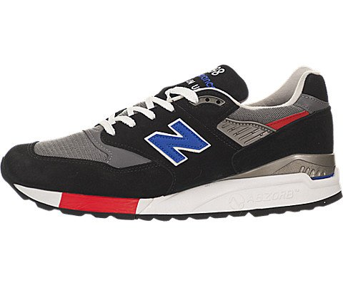 New Balance Men'S 998 Tricolour Suede Sneakers Made In The Usa Us 9.5 Multicolor