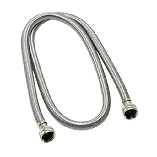 Fluidmaster 9WM72HE High Efficiency Stainless Steel 48-Inch Washing Machine Supply Connector