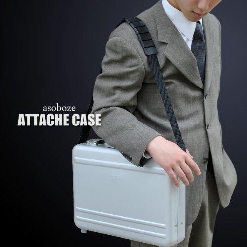 【BARDI(バルディ)BA-E003 紳士用 アルミ アタッシュケース】 鍵付 アルミアタッシュケース アタッシェ ビジネスバッグ パソコン PC a4 収納 出張 シルバー 男性 メンズ