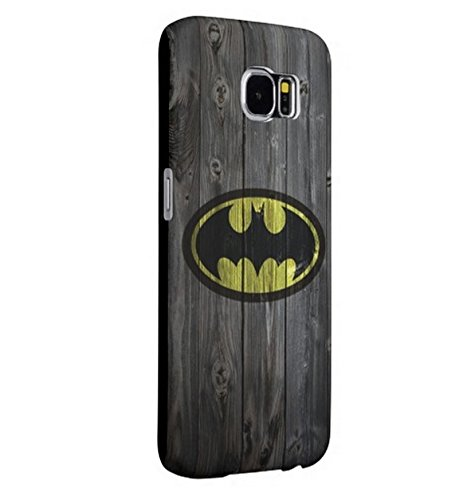 Super Hero Samsung Galaxy S6 Protective Case,Durable Hard Back Cover,[Scratch Resistant] [Impact Resistant] [Drop Protection] Cases Shells, PolyCarbonate Plastic shell Black at Gotham City Store