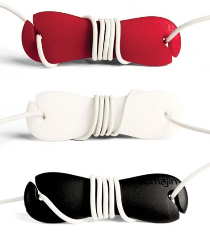 Sumajin Smartwrap Cord Manager (Red/Black/White)