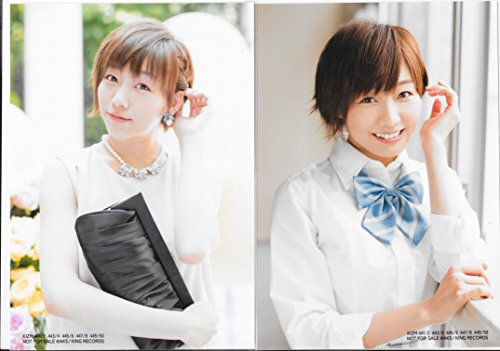 AKB48 公式生写真 「LOVE TRIP / しあわせを分けなさい」通常盤 封入特典 2種コンプ 【須田亜香里】