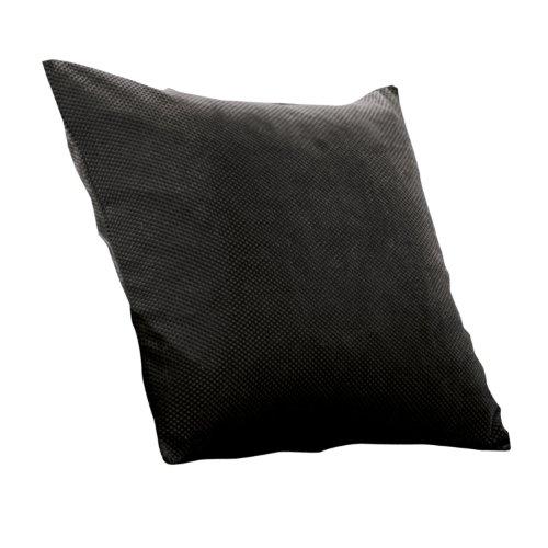 Sure Fit Stretch Pique Pillow, 18-Inch, Black front-1043388