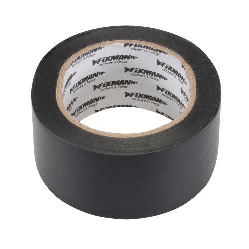 fixman-192221-insulation-tape-50-mm-x-33-m-black