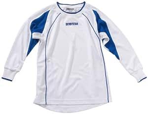 Derbystar Rio Maillot Enfant Manches longues blanc / bleu 14-15 ans (164 cm)