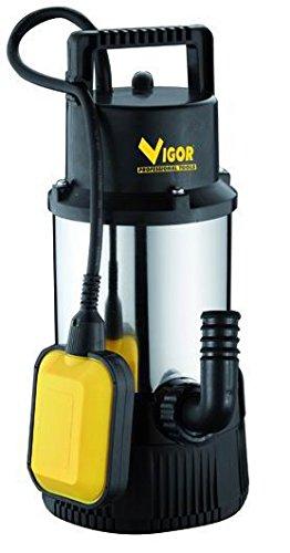 Vigor SUB Inox 1100 Automatica Elettropompa, 1-1/4 Pollici M