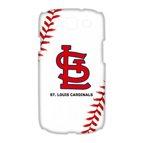 Unique Desgin MLB St. Louis Cardinals Logo Samsung Galaxy S3 I9300 Hard Cover Case at Amazon.com
