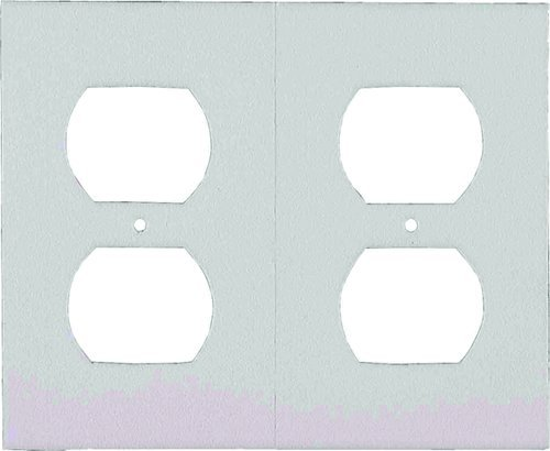 M-D Building Products 87916 6 Outlet Plate Sealers, White