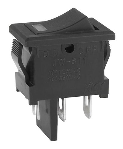 Illuminated Rocker Switches Serie Jws Hi In-Rush Rated Tv-5, Tv-8, 6A (1 Piece)