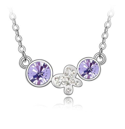 Boxingcat Fine Jewelry Swarovski Style Clear Austrian Crystal Pendant Necklaces Bgca4179 front-1044076