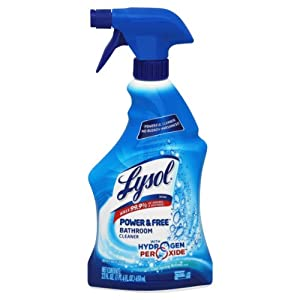 Lysol Power and Free Bathroom Cleaner, 22 Ounce