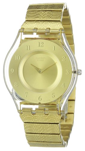 SWATCH Ladies Watch WARM GLOW SFK355G