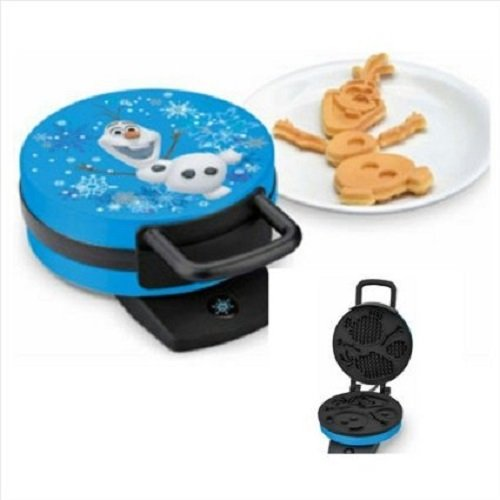 Disney Frozen Olaf Waffle Maker - Makes Olaf the Snowman Waffles (Olaf Snow Cone Maker compare prices)